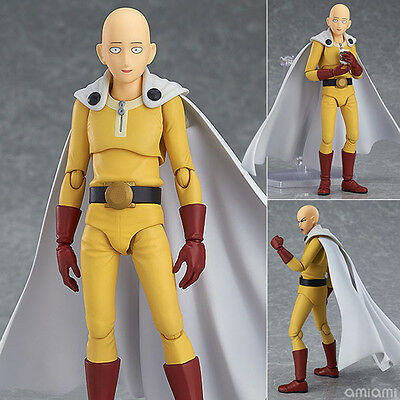 Anime One Punch Man Saitama Figma 310# Action PVC Figure New In Box