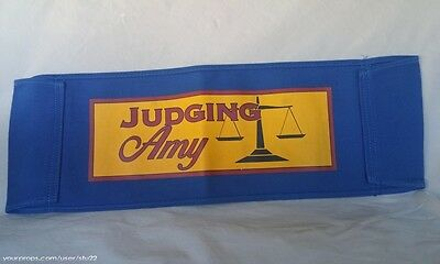 "Production Used Chair Back ""Judging Amy"" Television Show ScreenUsed Props COA"