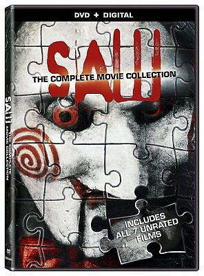 SAW The Complete Movie Collection 1 2 3 4 5 6 7 Series New DVD Box Disc Set