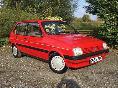 Modern Classic 1990 Rover Metro 1.0 Clubman L with ONLY 38,000 miles from new!