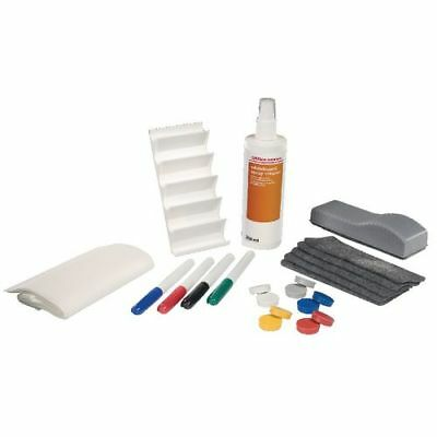White Board Eraser Cleaning Spray Complete Set Magnetic Pens Magnet New Free Del