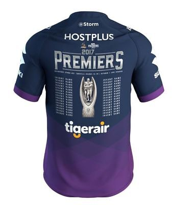 2017 PREMIERS Melbourne Storm Jersey Kids and Adults ISC S-3XL