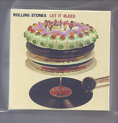 ROLLING STONES empty official Let It Bleed Drawer PROMO box for JAPAN mini lp cd