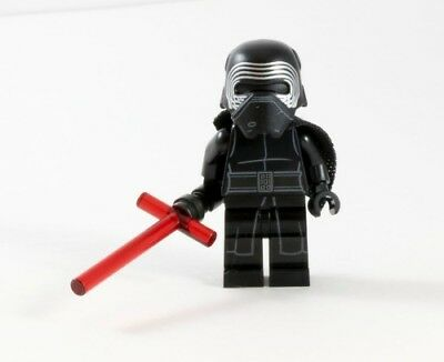 Kylo Ren - Custom Collectible Lego Star Wars Movie Minifigure LIMITED