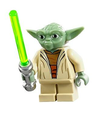 Master Yoda - Custom Collectible Lego Star Wars Movie Minifigure LIMITED
