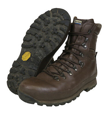 Altberg Brown Combat Boots - Grade 1 - Various Sizes - Cadet - Britsh Army