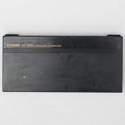 Casio AI-1000 Pocket Programmable LISP Computer Hard Shell Storage Case
