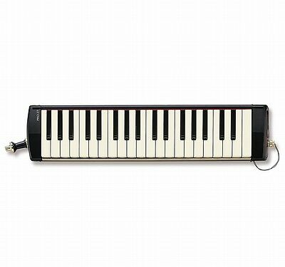 SUZUKI Melodion keyboard harmonica PRO-37 V2,37 key,with leather look carry case