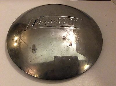Vintage Plymouth Hubcap
