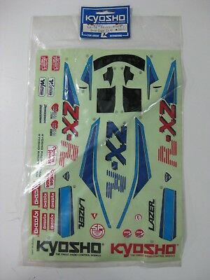 Vintage Kyosho La54 Decal/stickers Buggy Lazer Zx-R R/c 1/10-New!!