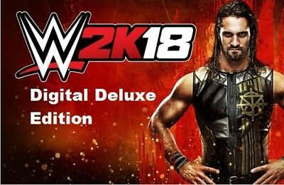 WWE 2K18 Digital Deluxe Edition - PC Global Play Not Key/Code - Günstigs