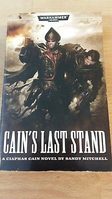 Warhammer 40K Novel Cain's Last Stand in very good condition