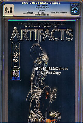 1 CGC 9.8 Artifacts 0 First Look FCBD 2010 Edition