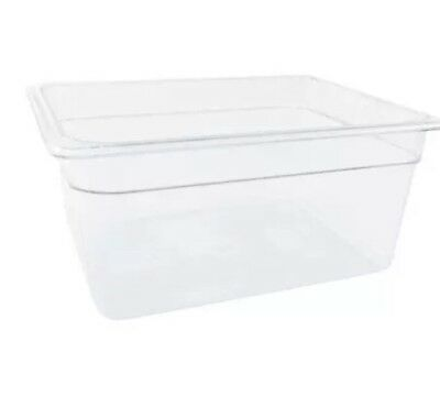 Cambro 26CW135 Camwear® 1/2 Size 6in Deep Polycarbonate Food Pan (Case Of 6)