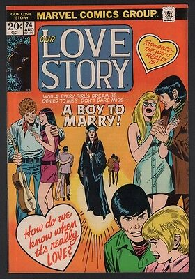 Our Love Story #24 F- 5.5 Off White Pages