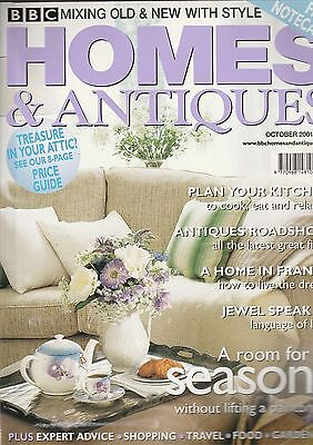 Homes And Antiques Ocotber 2001
