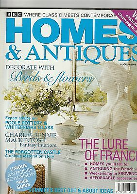 Homes And Antiques August 2003