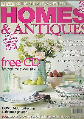 Homes And Antiques July  2001