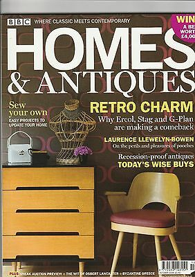 Homes And Antiques October  2008