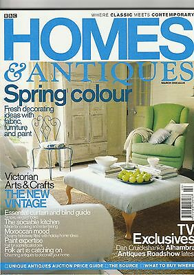 Homes And Antiques March 2005