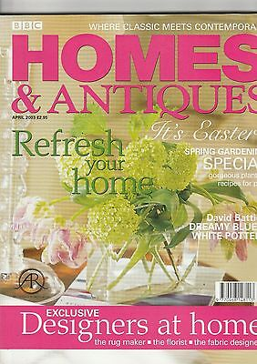 Homes And Antiques April  2003
