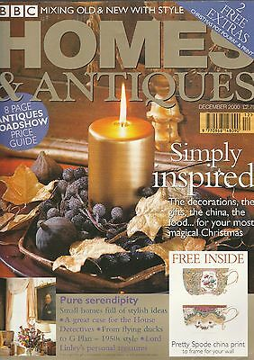 Homes And Antiques December 2000