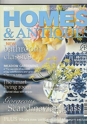 Homes And Antiques May  2003