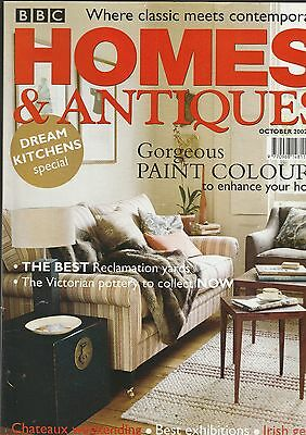 Homes And Antiques October  2002