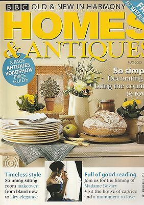 Homes And Antiques May 2000