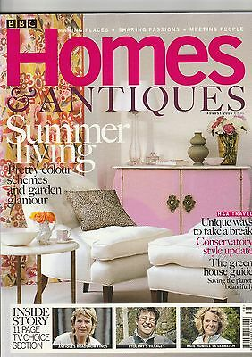 Homes And Antiques August  2006