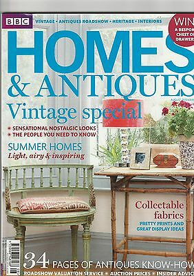 Homes And Antiques  August 2010