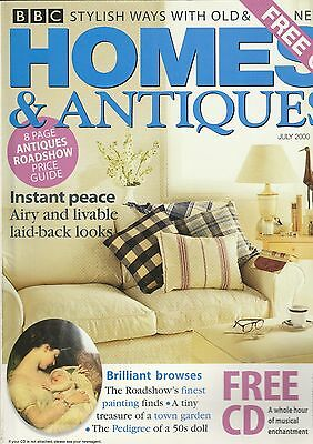 Homes And Antiques July 2000
