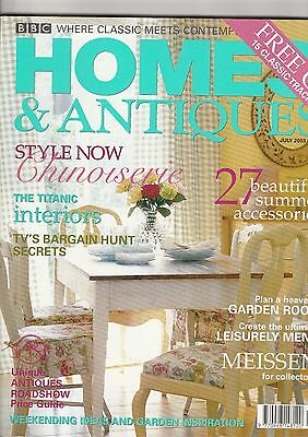 Homes And Antiques July  2003