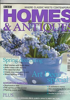 Homes And Antiques March  2003