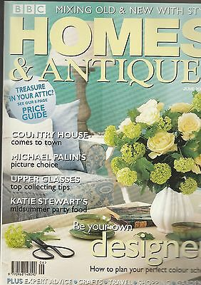 Homes And Antiques June  2001