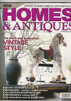 Homes And Antiques September 2003