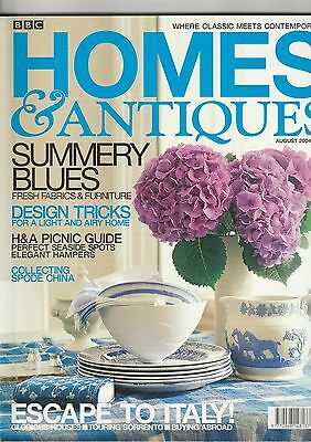 Homes And Antiques August 2004