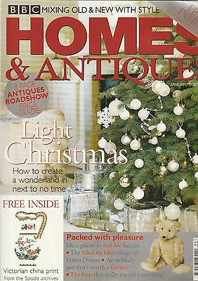Homes And Antiques January 2001