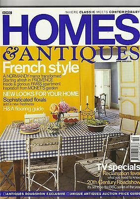 Homes And Antiques April 2005