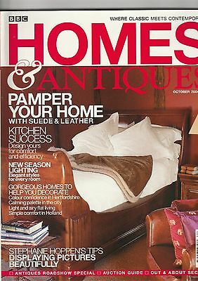 Homes And Antiques October 2004