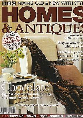 Homes And Antiques February 2002