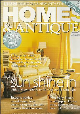 Homes And Antiques March 2001
