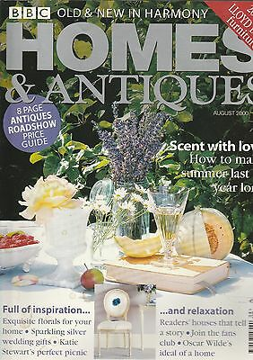 Homes And Antiques August  2000
