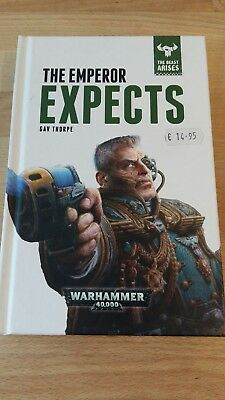 Warhammer 40K Novel The Emperor Expects Hardback in mint condition
