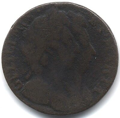 1694 William & Mary Farthing***Collectors***