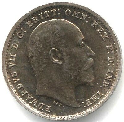 1904 Edward VII Silver Maundy 2p Twopence***Collectors***