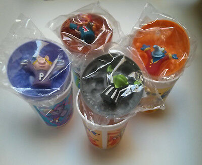 Muppet Dairy Queen 1995 Puppet Cups RARE COMPLETE SET