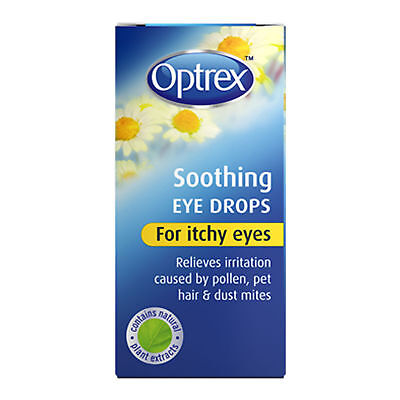 GENUINE Optrex Soothing Eye Drops for Itchy Eyes ONE BOTTLE 10ml
