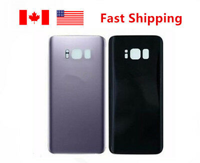 For Samsung Galaxy S8 plus Battery Back Glass Cover Back Door Grey color