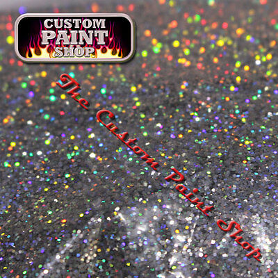 "Metal Flake, Custom Paint CHROME HOLOGRAPHIC 50grams Medium (200micron 0.008"")"